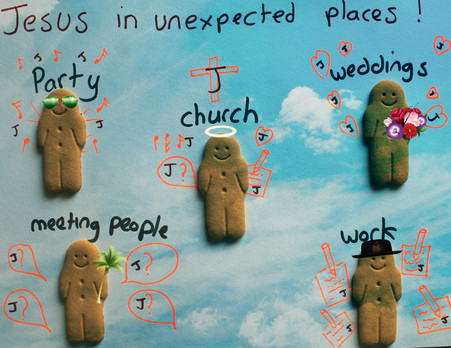 Jesus in unexpected places