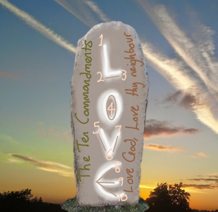 A gift given in love - The Commandments