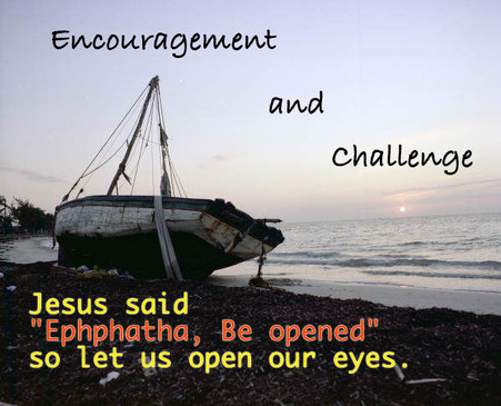 Encouraged and challenged