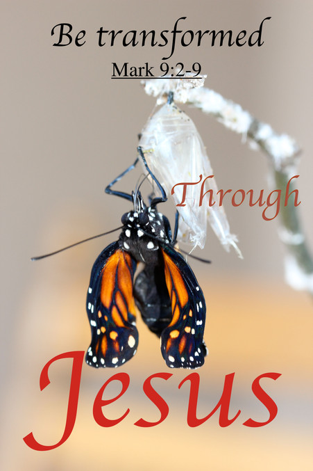 Be Transformed by Jesus