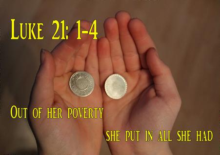 Luke 21: 1-4
