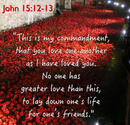 Remembrance Sunday - Greater love