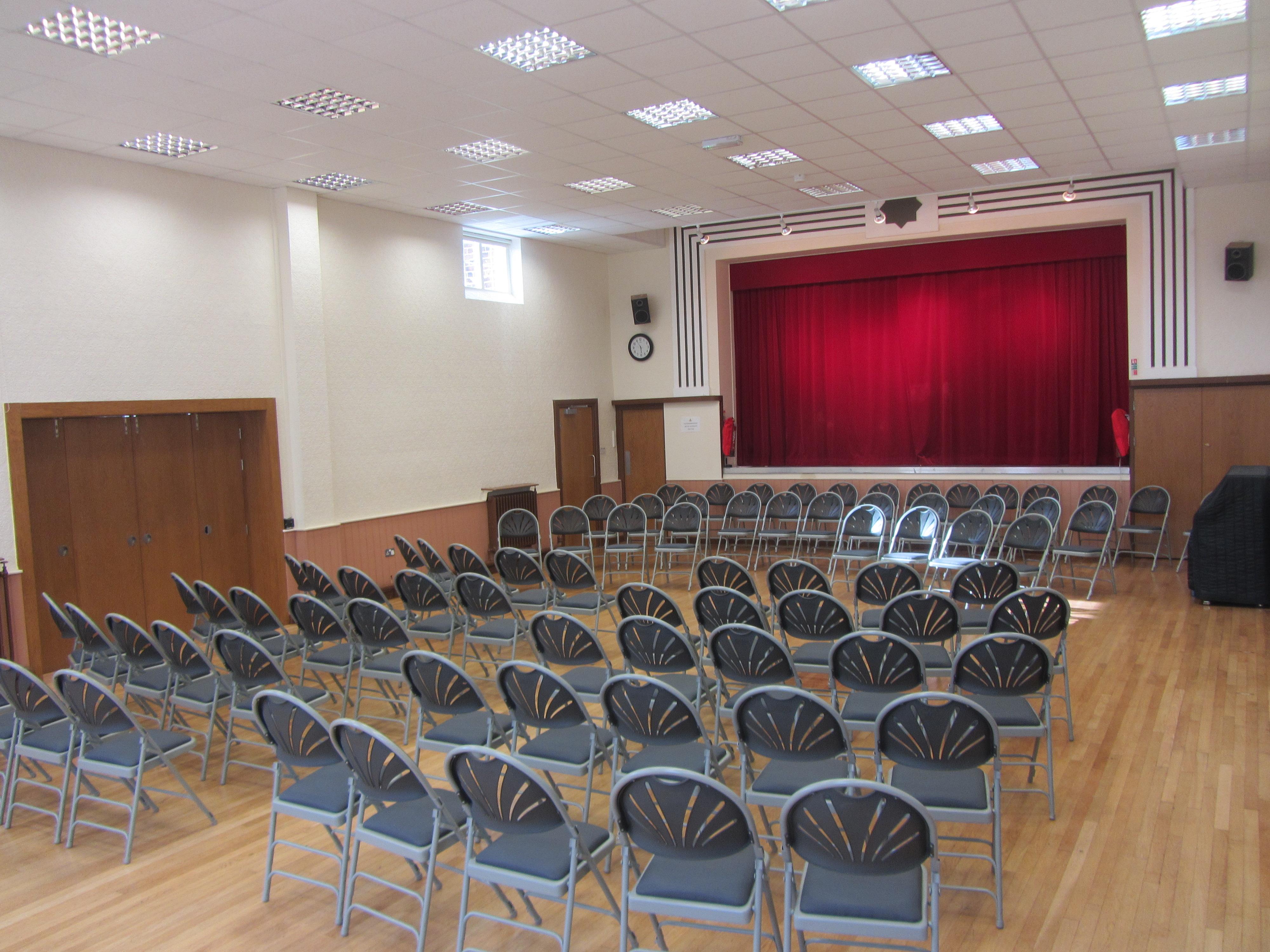 Concert layout