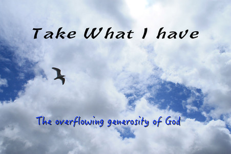 Take what I have