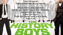 Pass it on, boys. That's the game I wanted you to learn. Pass it on!