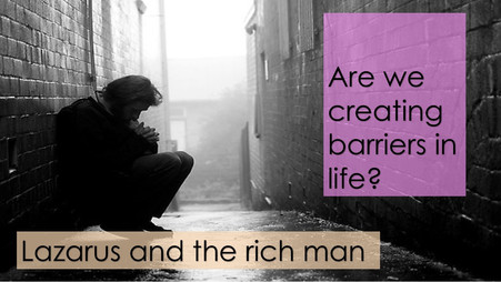Are we creating barriers in life?