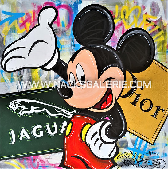 Mickey in the Street