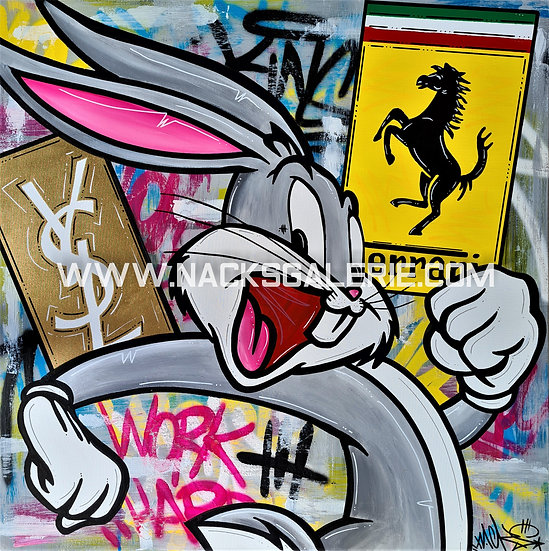 Bugs Bunny in the Street