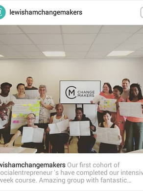 Lewisham Change Makers sessions