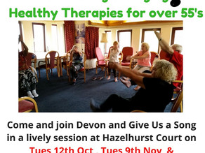 Covid19 Recovery clinic and Healthy Living for over 55's - Sing a long