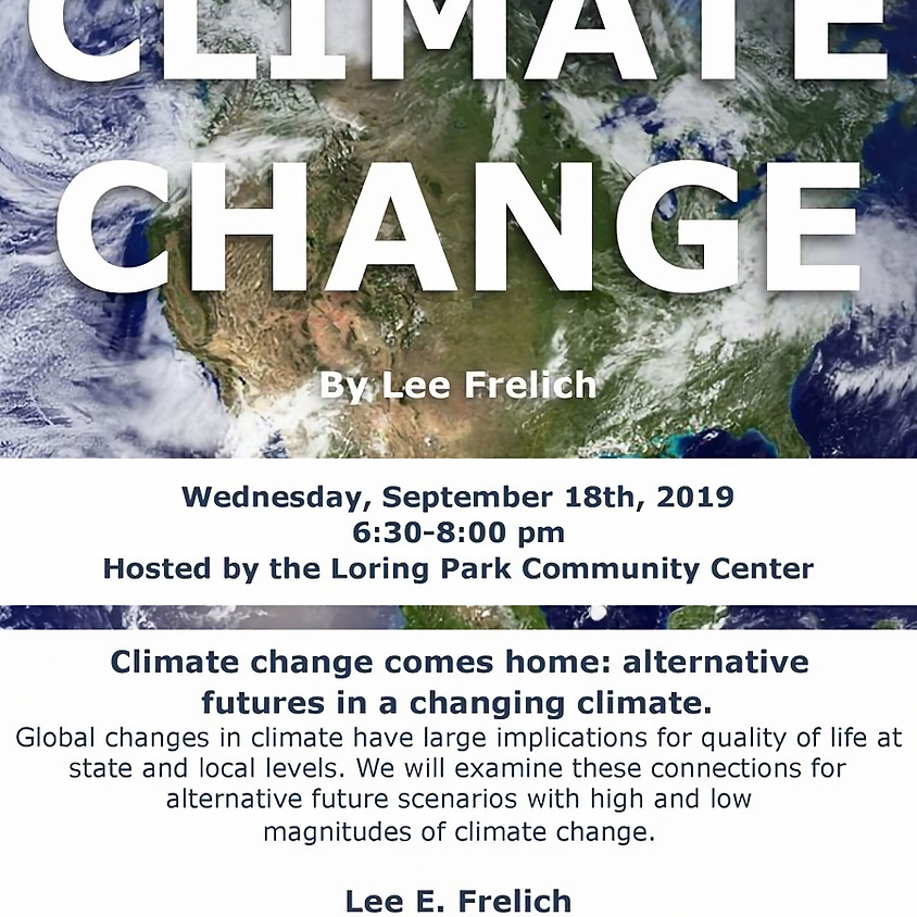 Climate change comes home: alternative futures in a changing climate