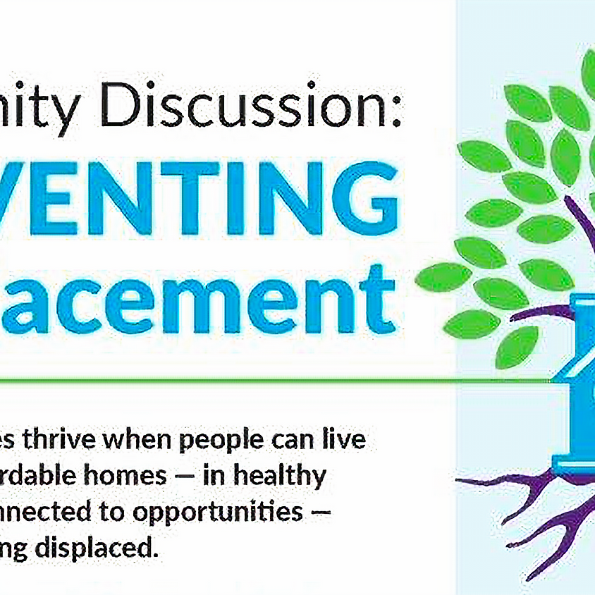 Community Discussion about Preventing Displacement