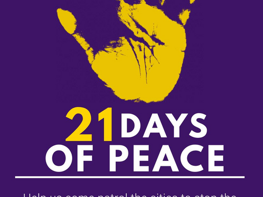 21 Days of Peace: What You Can Do