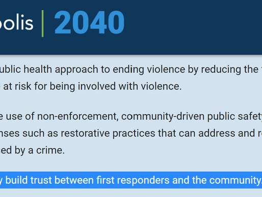 The Passed 2040 Comp Plan in Conflict With Proposed Public Safety Charter Amendment