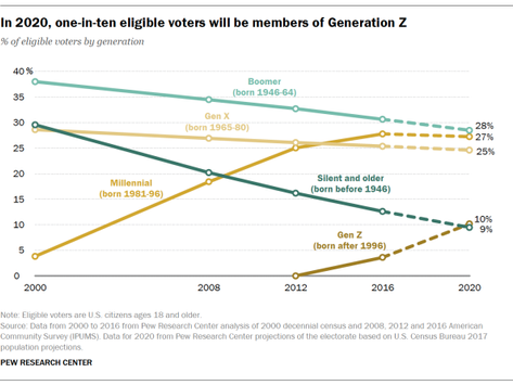 Who Makes Up the 2020 Electorate?