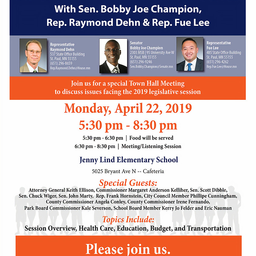 Senate District 59 Town Hall Meeting - Meet Your Legislators