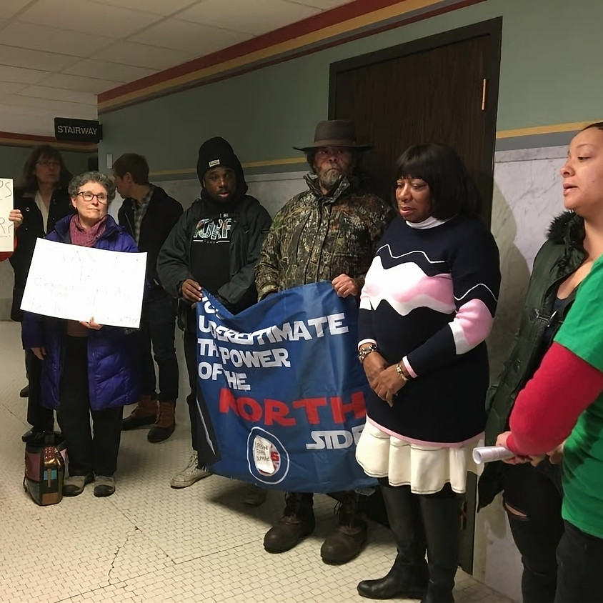 Upper Harbor Terminal Rally Before City Council Committee Meeting