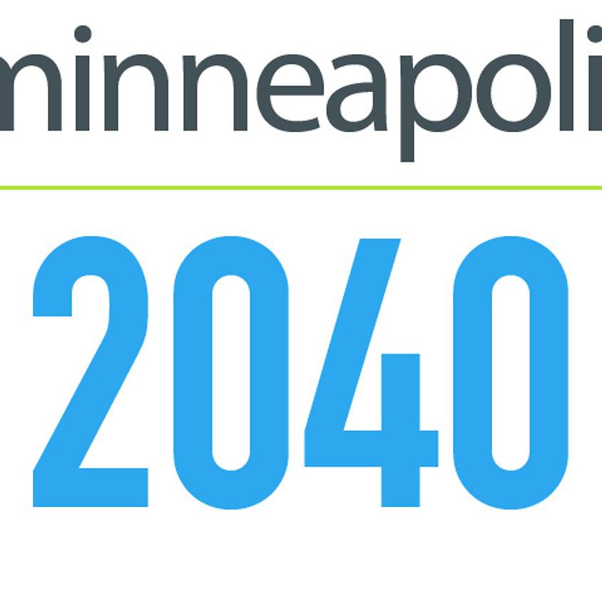 City Council Action - Minneapolis 2040