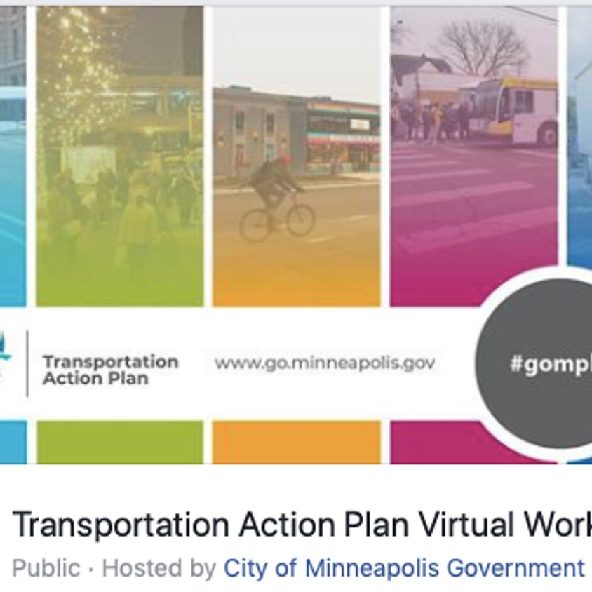 Transportation Action Plan Online Open House