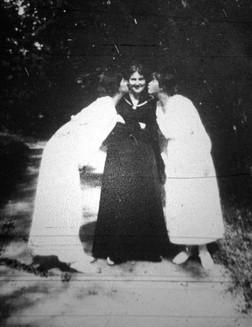 Maria & Anastasia kissing Nastenka