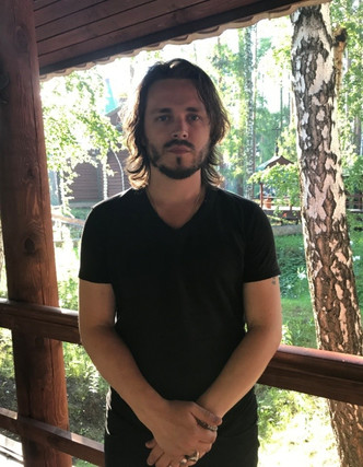 Jonathan Jackson at the Ganina Yama pit