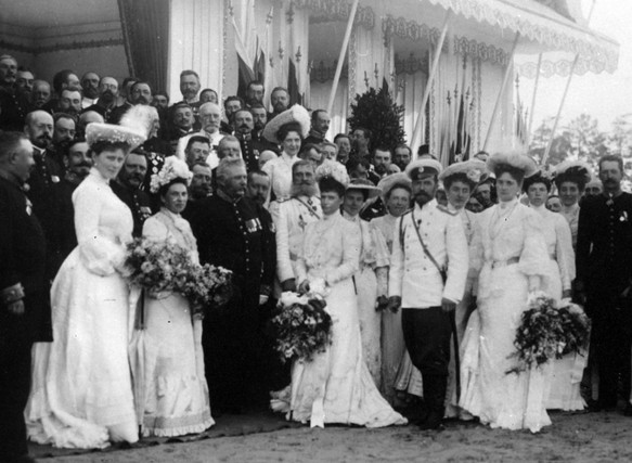 With the nobility of Nizhny Novgorod Province