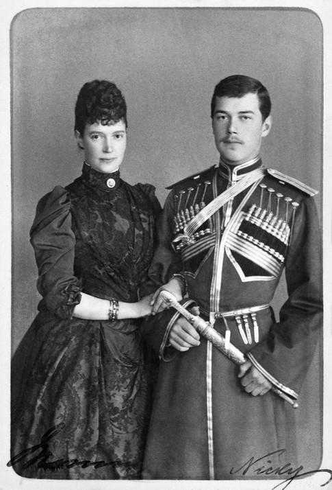 Ο Νικόλαος με την μητέρα του.