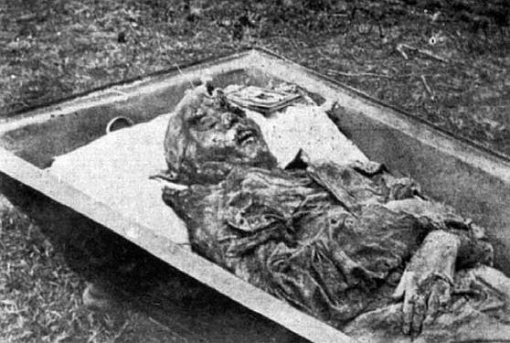 Nastenka's body
