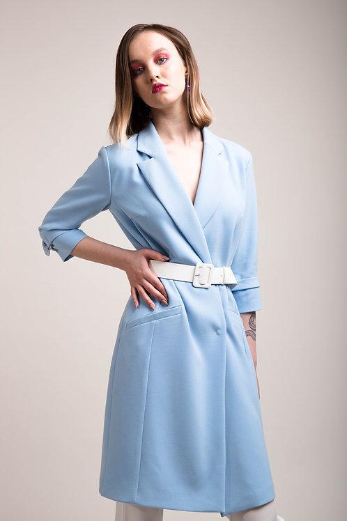 Платье с застежкой на кнопках