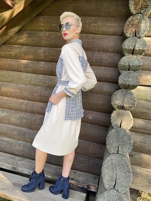 Платье-рубашка «Шанель»
