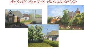 Verkrijgbaar op de Zomerfair: kalender 2019 met monumenten-portretten.
