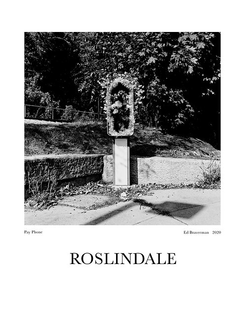 Pay Phone - Roslindale Poster