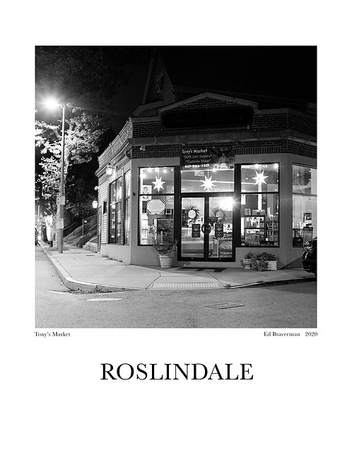 Tony's Roslindale Poster