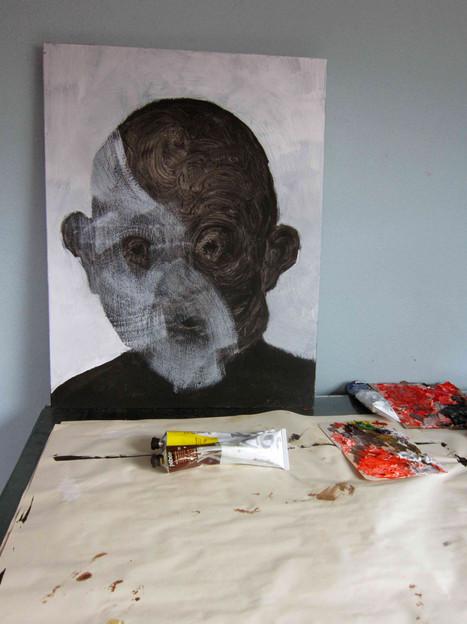 Quelqu'un 4 (in the studio)