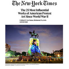 NEW YORK TIMES - The 25 Most Influential Works of American Protest Art Since World War II
