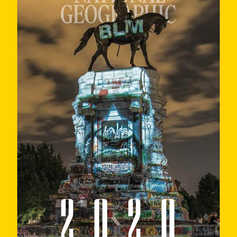 NAT GEO : 2020  THE YEAR IN PICTURES COVER