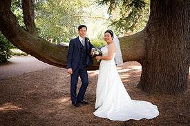 Wedding of Amy & Mankun at the Royal Botanic Gardens, Edinburgh, Scotland