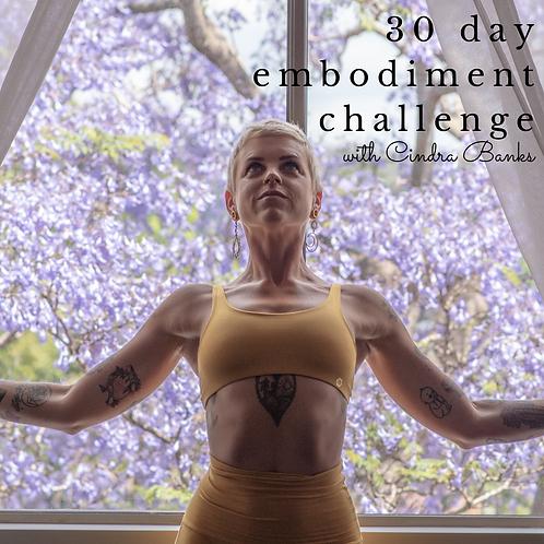 30 Day Embodiment Challenge