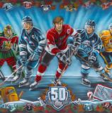 LHJMQ 50eme- QMJHL 50th anniversary