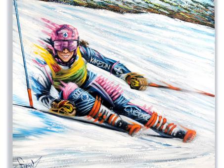 Caroline Beauchamp - Coureuse Élite en Ski Alpin