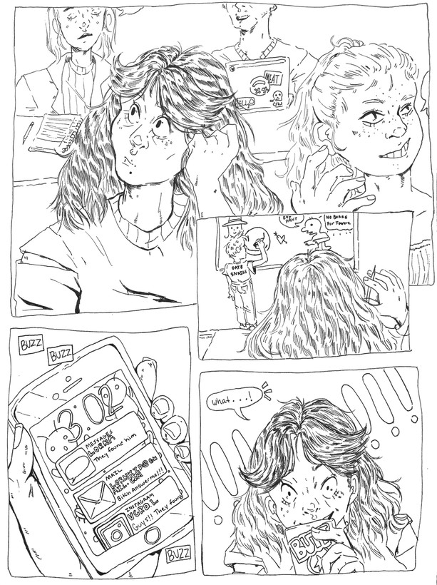 One Page Comic