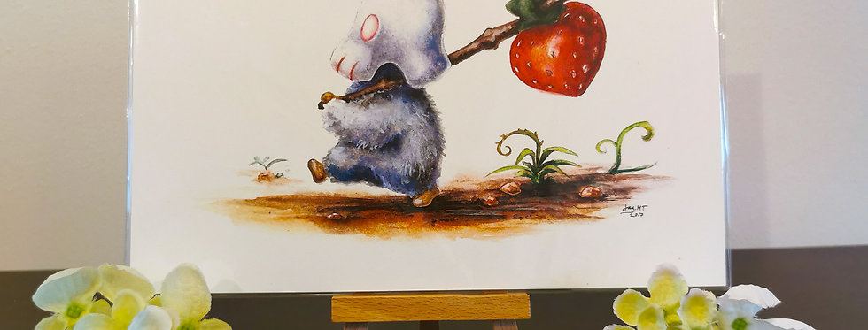 Strawberry - Print