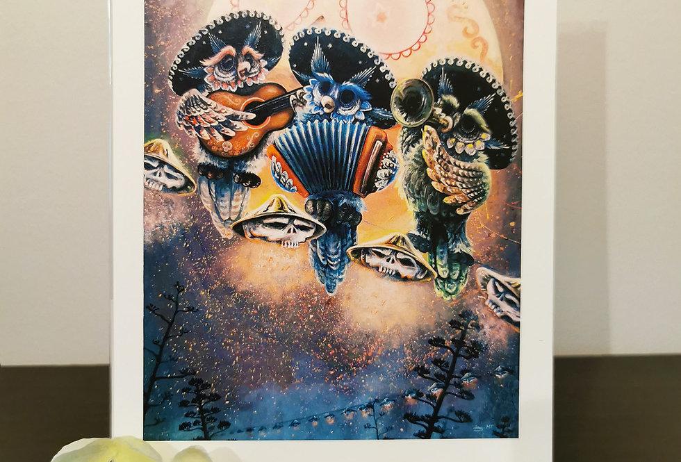 Mariachi Howl - Print