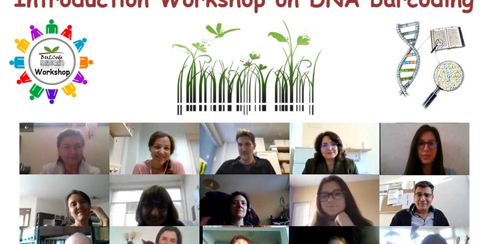 Introduction workshop on DNA barcoding - successfully held online
