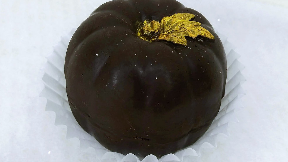 Sugar Free Dark Chocolate Bomb (Pumpkin Shape)