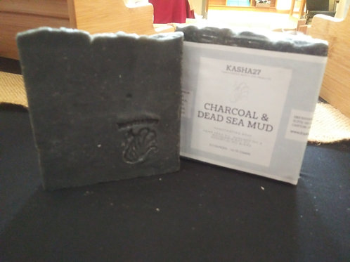 Charcoal & Dead Sea Mud Handcrafted Soap