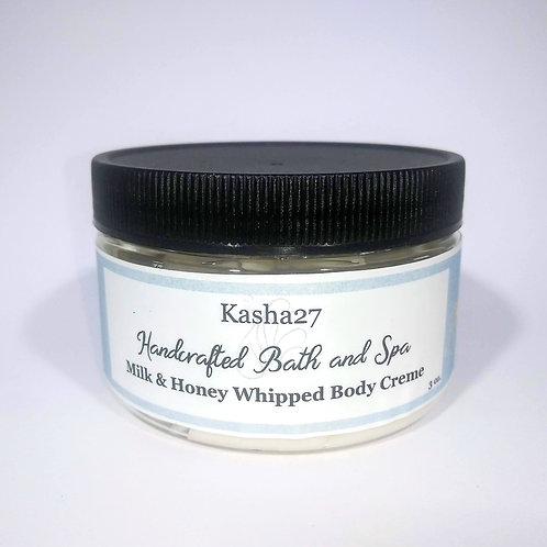 Milk and Honey Whipped Body Butter