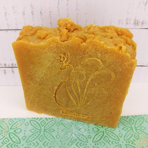 Golden Milk Tea Turmeric Handcrafted Soap