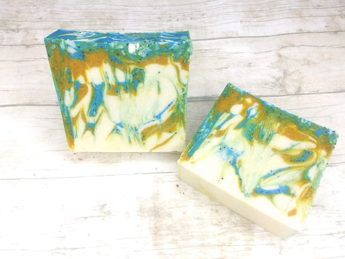 Lemon Poppy Silk Milk Soap