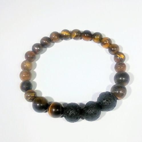 Eye of the Tiger #113 Aromatherapy Bracelet